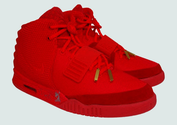An Autographed Pair of Red October Yeezy 2s Will Be Auctioned Off Soon c1284bbb7
