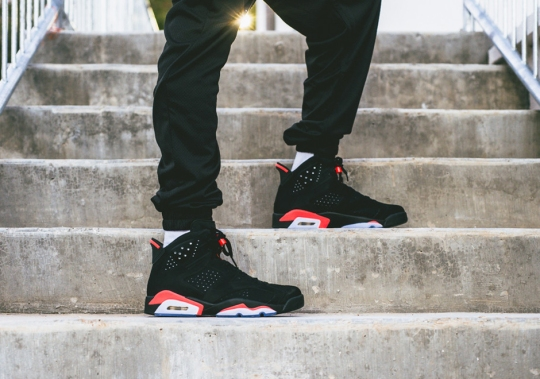 "An On-Feet Look at the Air Jordan 6 ""Infrared"", The Must Have Sneaker On Black Friday"