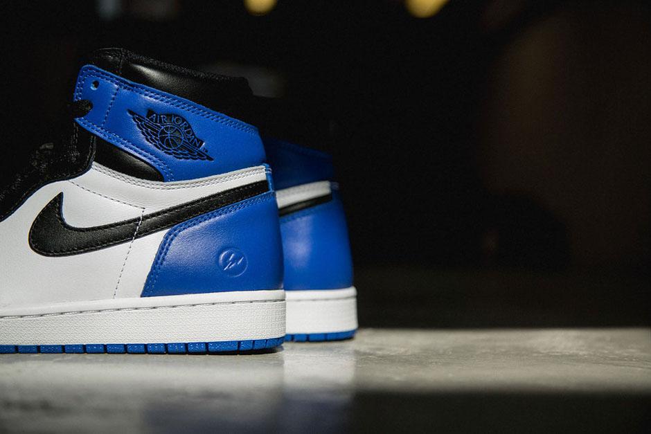 033a71ac2349d0 Black Toe Meets Royal in the Air Jordan 1 by fragment design -  SneakerNews.com