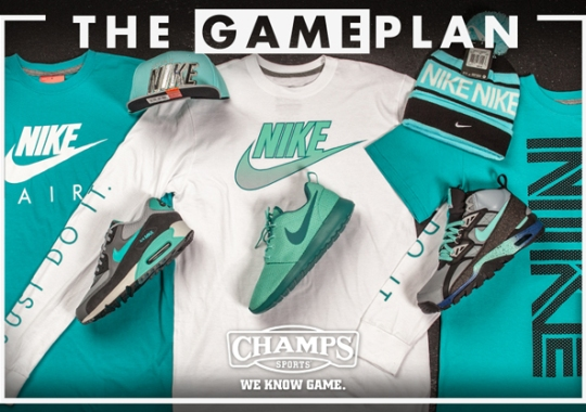 The Game Plan by Champs Sports: Nike Hyper Jade Collection