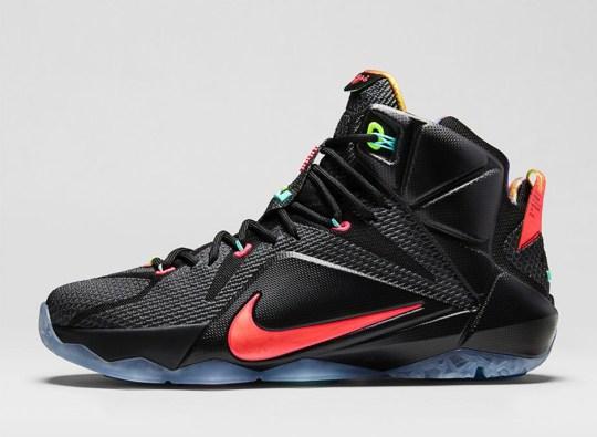 "Nike LeBron 12 ""Data"" – Nikestore Release Info"