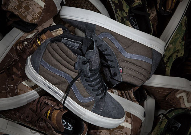 """cc3baa9708 Another branch from the tree of Vans collaborations comes to light today in  the form of the DEFCON x Vans Syndicate Sk8-Hi Notchback Pro """"S."""" Drawing  ..."""