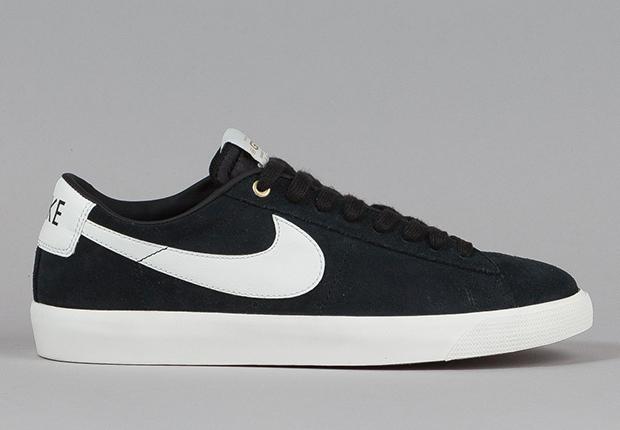 Nike Blazer Basse Gris Noir GJUsxaNv