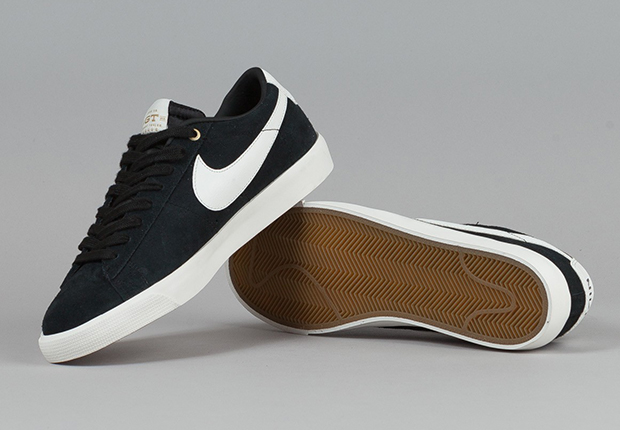 newest collection 8a183 92ed3 Grant Taylor x Nike SB Blazer Low GT - Black - SneakerNews.com