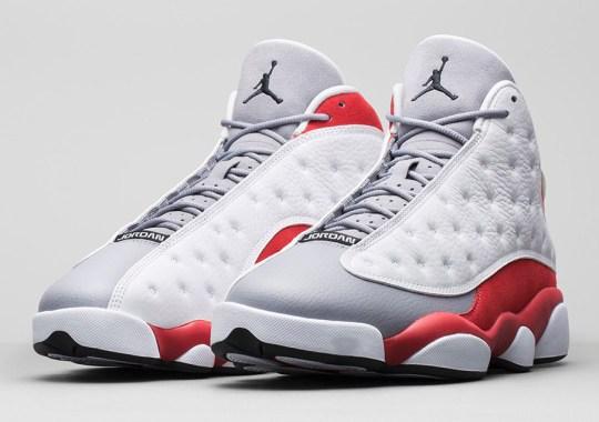"Air Jordan 13 ""Grey Toe"" – Nikestore Release Info"