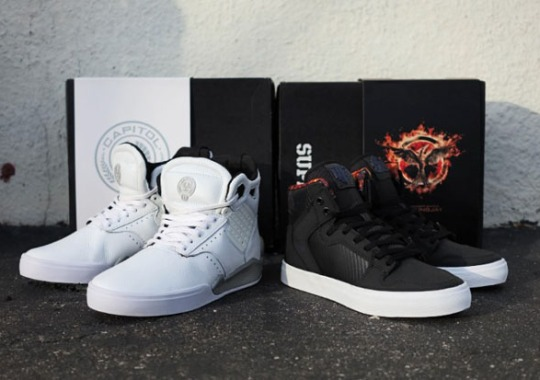The Hunger Games x Supra – Available