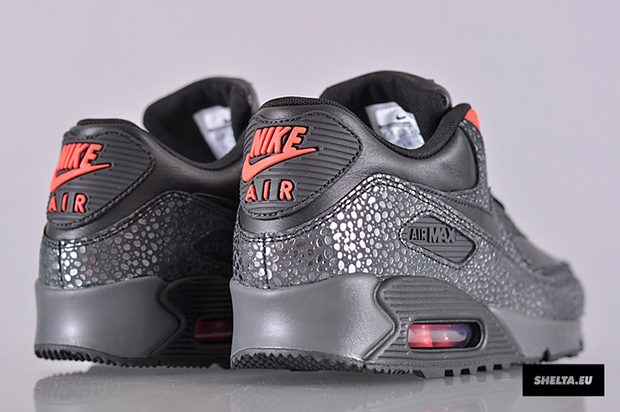 best authentic 7b6ef 2b3fc reduced nike sportswear air max 90 deluxe color black black infrared  anthracite style code 684710 001