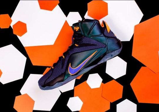 "The Finer Details Of The Nike LeBron 12 ""Instinct"""