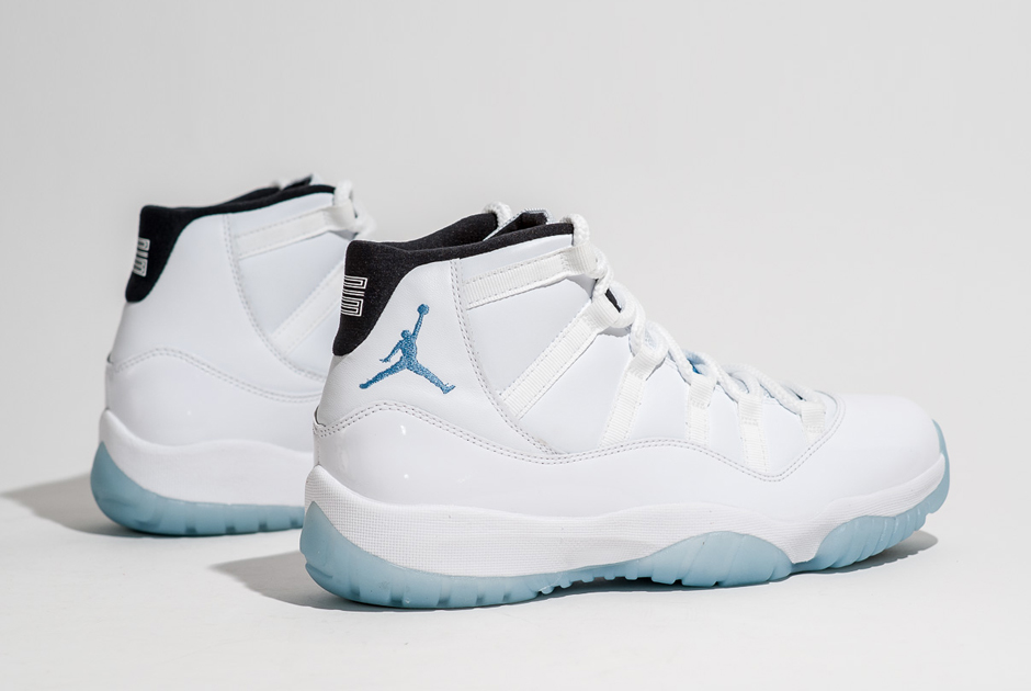 b61cb4ef7eec Legend Blue Jordan 11 Price is  200