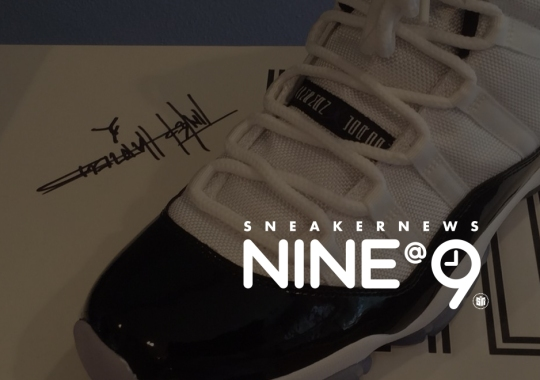 Sneaker News NINE@NINE: Jordans Not Autographed By Michael