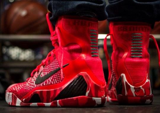"Nike Kobe 9 Elite ""Christmas"" – On-Feet Images"