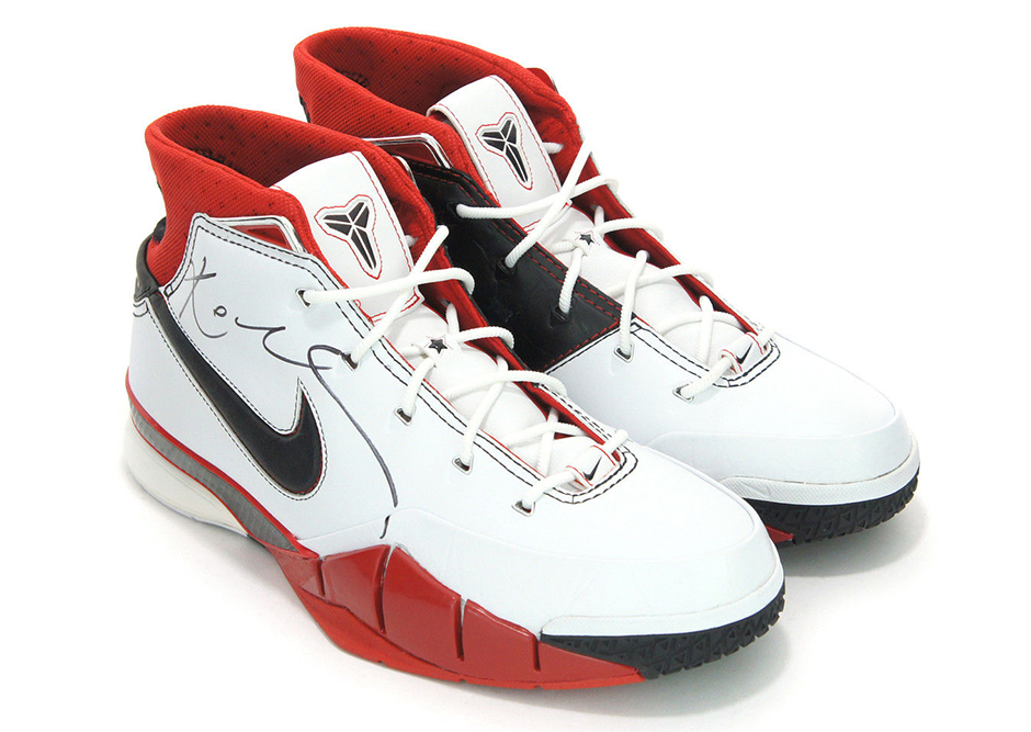 First Nike Signature Shoe is on eBay