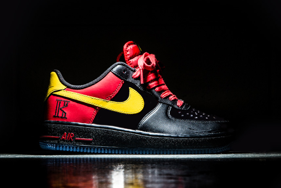 Nike Air Force 1 QS Kyrie Irving Red Yellow