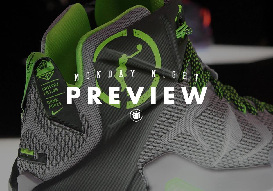 7601b6da3921 Monday Night Preview  LeBron 12
