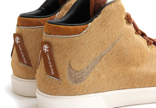 lebron 12 lifestyle lions mane camel 5 Nike LeBron 12 NSW Lifestyle Lions Mane Available
