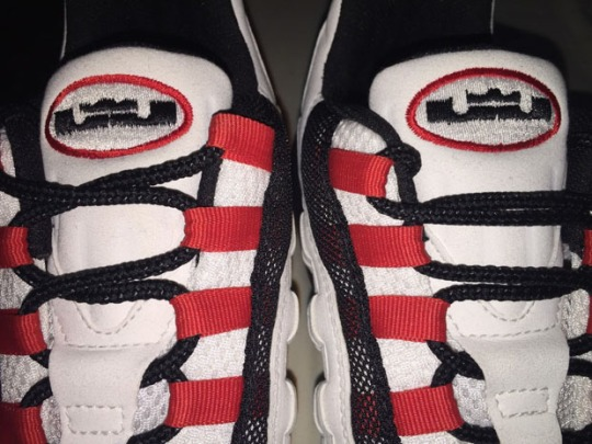 LeBron James x Nike Air Max 95 – Family and Friends Promo Sample