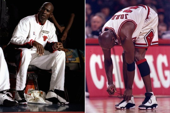 Michael Jordan's 13 Greatest Moments Wearing The Air Jordan 13 by Champs Sports