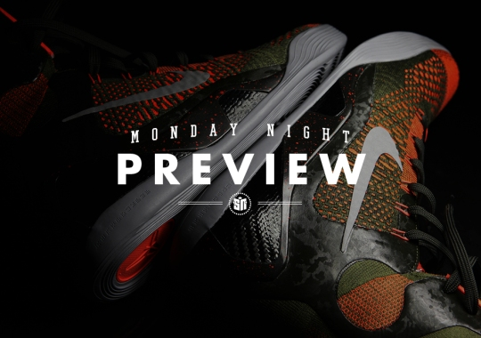 Monday Night Preview: The Kobe 9 Elite Goes Military