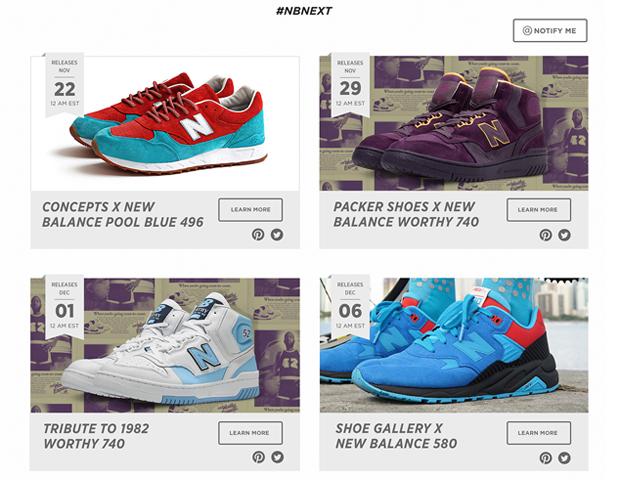 Shoe Release Calendar.New Balance Launches Nbnext Sneaker Release Dates Calendar