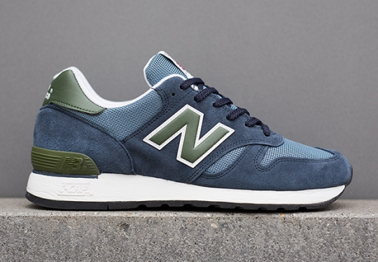 New Balance 670 Made in UK – Blue – Olive