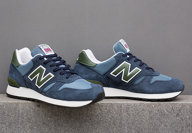 New Balance 670 Made In Uk Blue Olive
