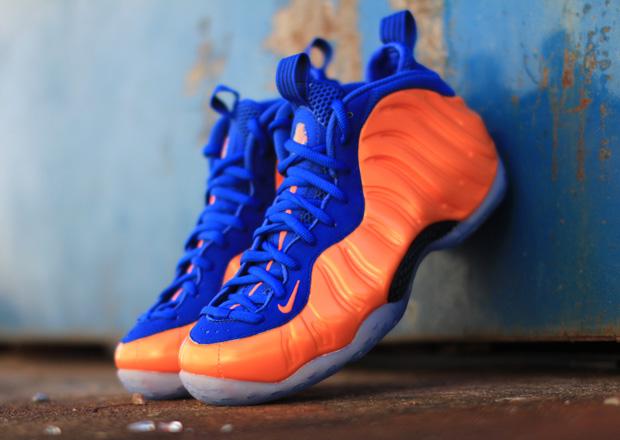 Nike Foamposite Knicks