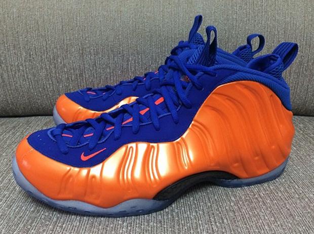 Nike Foamposites Orange Blue