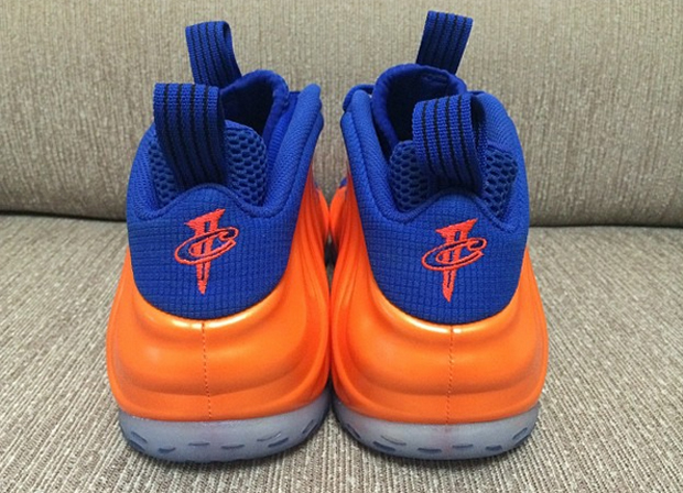 new arrival 780db cb86c Nike Foamposites Orange Blue   SneakerNews.com