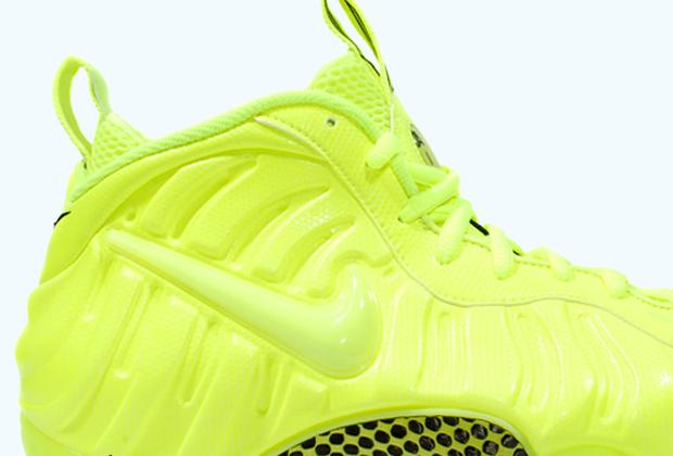 78539de3839 Nike Air Foamposite Pro - Volt - Black - SneakerNews.com