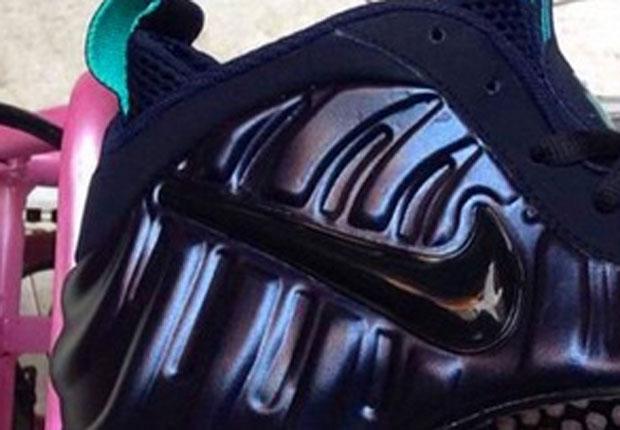 Nike Air Foamposite Pro Navy Teal