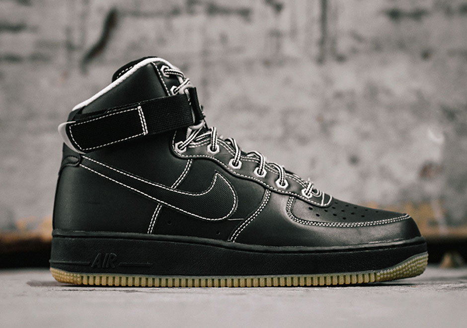 Noir Nike Air Force One Boot