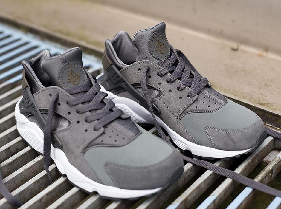 5976a8301598f Nike Air Huarache - Cool Grey - Dark Dune - White - SneakerNews.com
