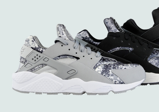 "Nike Air Huarache ""Snow Camo"" Pack"