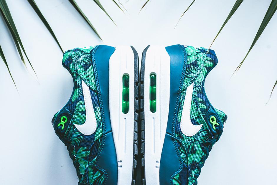 official photos ac84d 671c3 Nike Air Max 1 GPX - Space Blue - Black Jade - Cerulean - SneakerNews.com