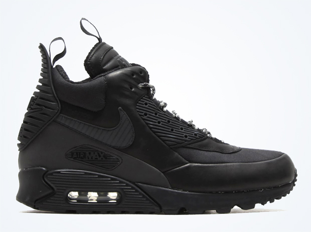 Nike Air Max 90 Sneaker Boot NS Black Royal Blue