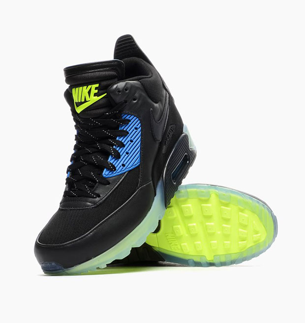 nike air max 90 sneakerboot ice black