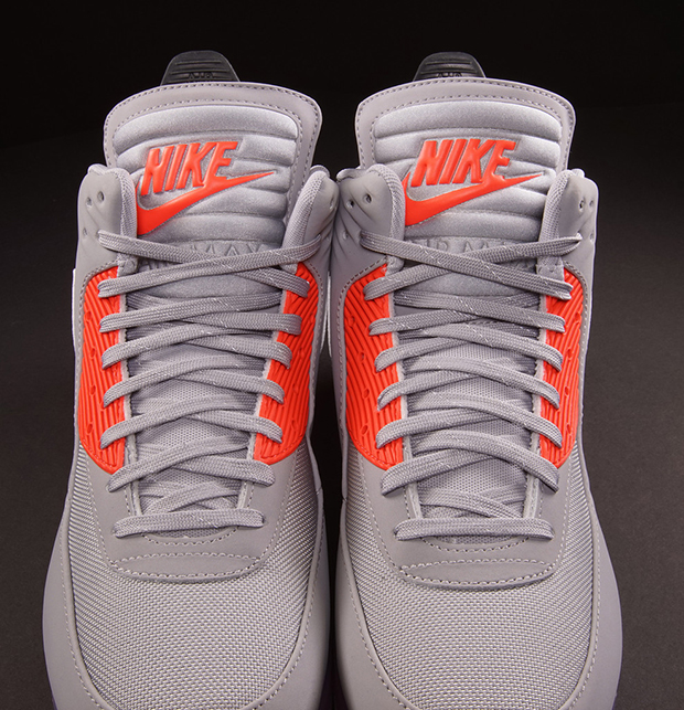 Nike Air Max 90 Ice Sneakerboot Wolf GreyInfrared