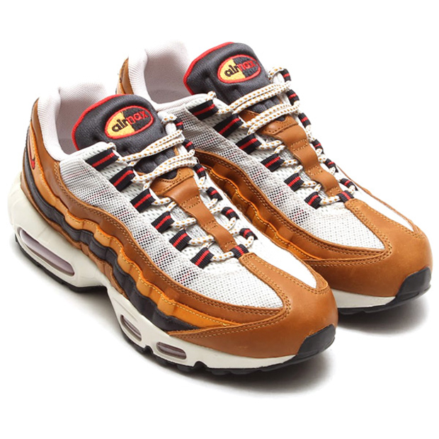 "sports shoes cb70c 87173 Nike Air Max 95 QS ""Escape"" Color  Ale Brown Red Clay-Bronze Style Code   718731-200"