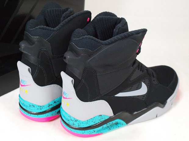 Nike Air Command Force Color  Black Wolf Grey-Hyper Jade-Hyper Pink Style  Code  684715-001. Release Date  12 01 14. Price   200 3df7a8f09