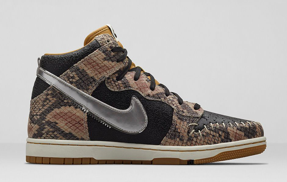 Nike Dunk High Premium Quot Snakeskin Quot Release Date
