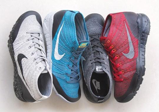 Four New Nike Flyknit Chukka FSB Releases For November 2014