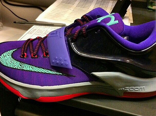 "ea1b7220cdb2 The Nike KD 7 ""Cave Purple"" will release on November 25th"
