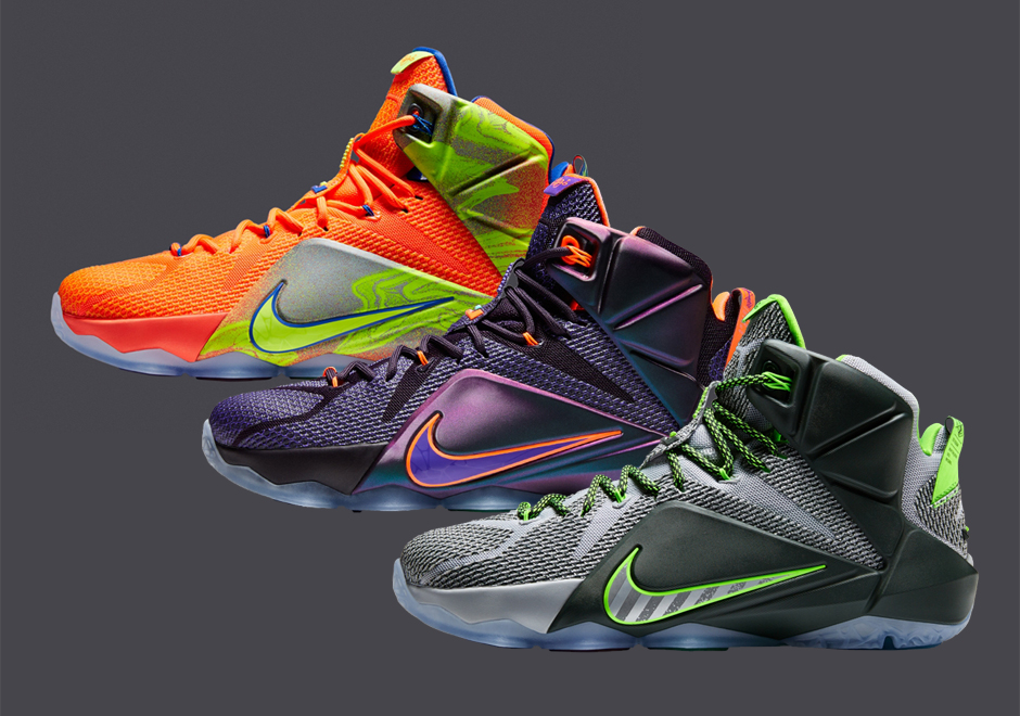 Nike LeBron 12 - November 2014 Release Dates - SneakerNews.com