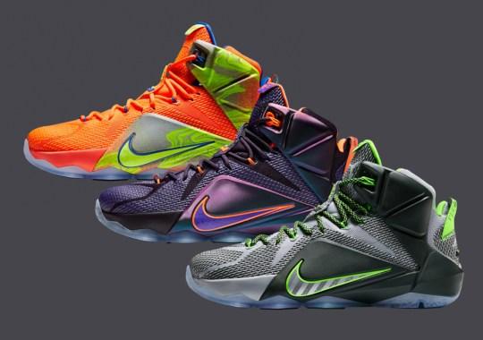 Nike LeBron 12 – November 2014 Release Dates