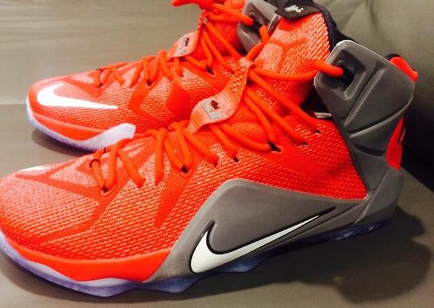 "sale retailer d746d 68118 Nike LeBron 12 ""Ohio State Buckeyes"" PE"