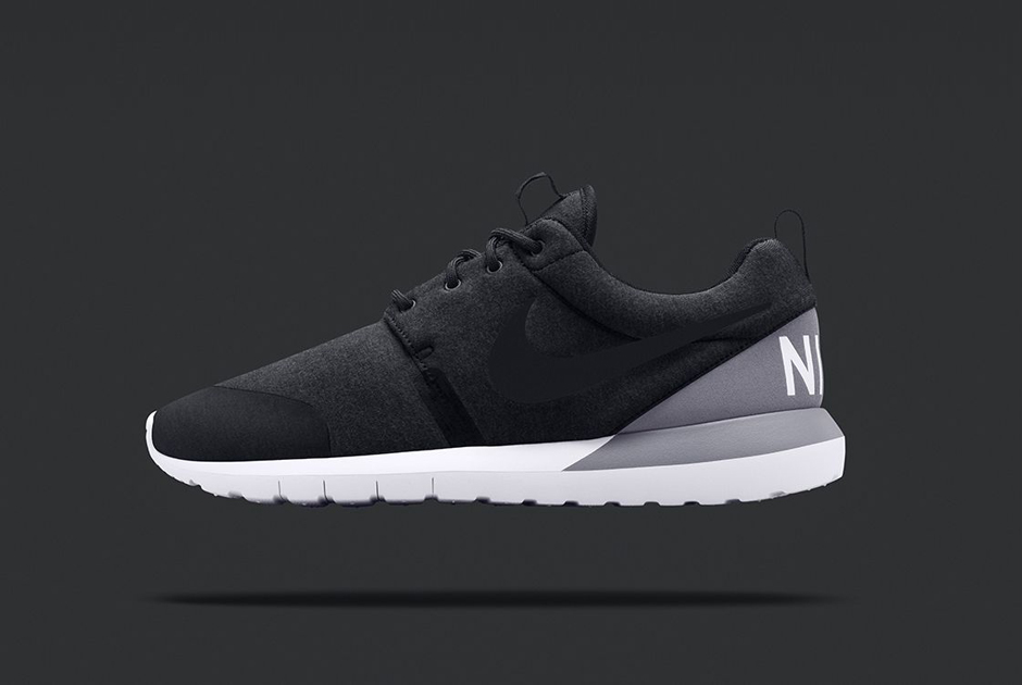 Nike Roshe Run Nm Sp Tech Fleece Gråmelert 21IT5Ml