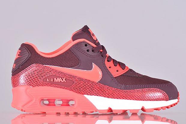 Nike Air Max 90 Womens Burgundy