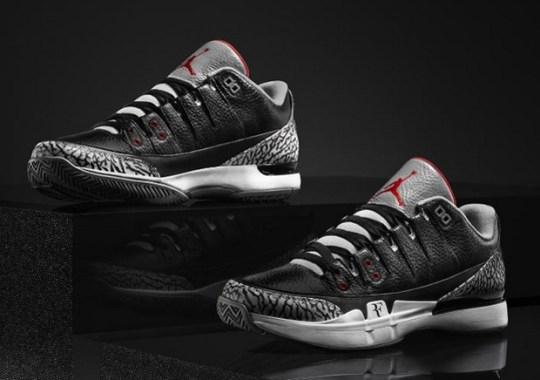 """d72d804b5850f9 Nike Zoom Vapor Tour AJ3 """"Black Cement"""" – Release Date"""