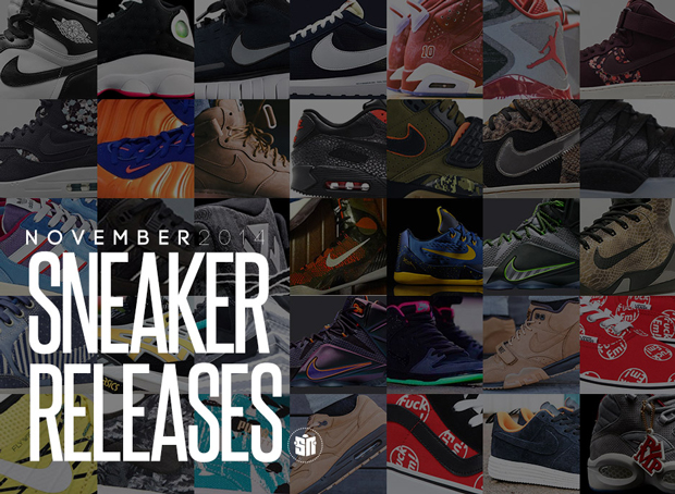 a8b4576baad5 November has arrived which means we have a whole batch of enticing sneaker  releases for you to catch up on. The eleventh calendar month is always a  huge one ...