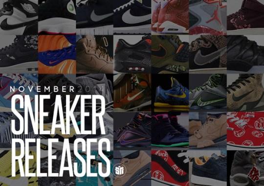 November 2014 Sneaker Releases